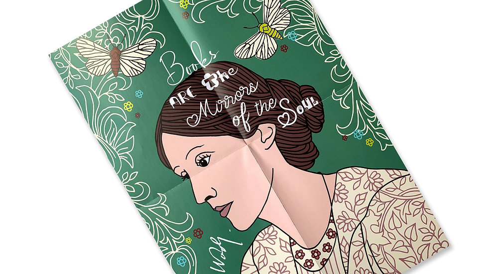 Poster Virginia Woolf