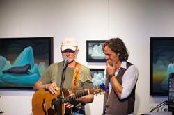 Atz & Nikos at Pilgrim Album Release