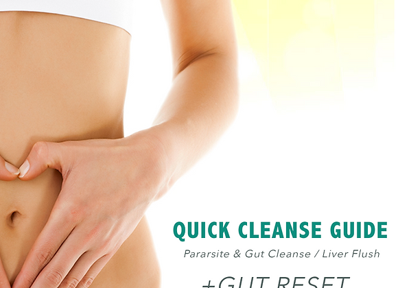 Quick Cleanse GUT RESET Kit + Guided Protocol
