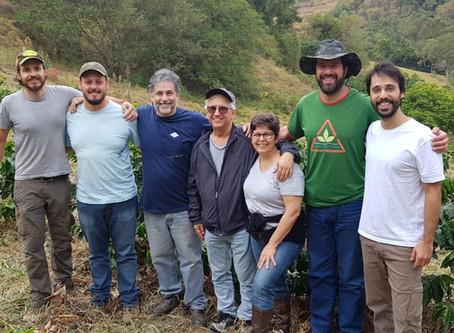 PRIMEIRO CURSO EM AGROFLORESTA - INÍCIO DA TRANSIÇÃO NO CAFEZAL