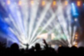 Flashing Lights During Concert