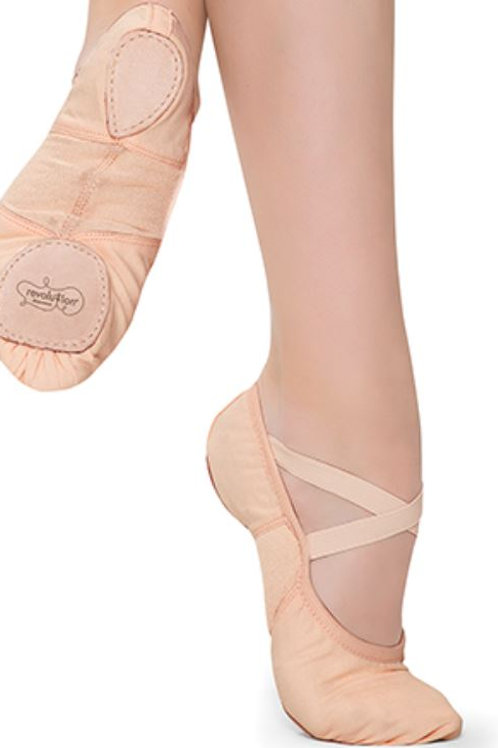 Stretch Canvas Ballet Shoe