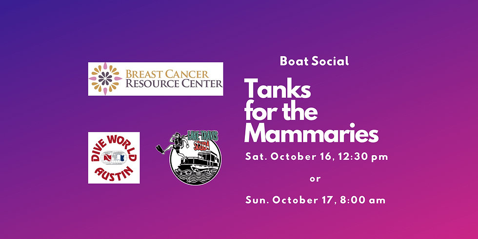 Tanks for the Mammaries-Boat Social