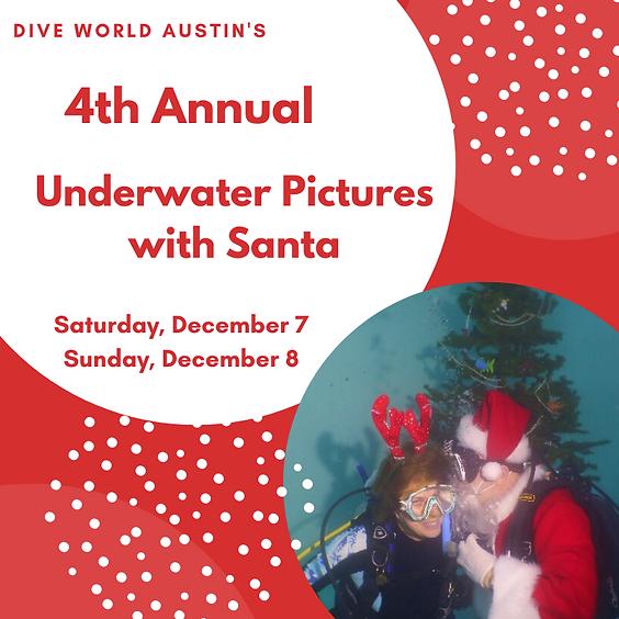 Underwater Photos With Santa!