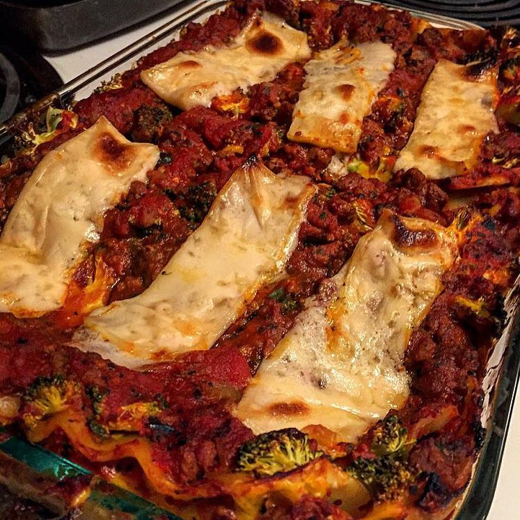 Healthy Vegan Eggplant Lasagna