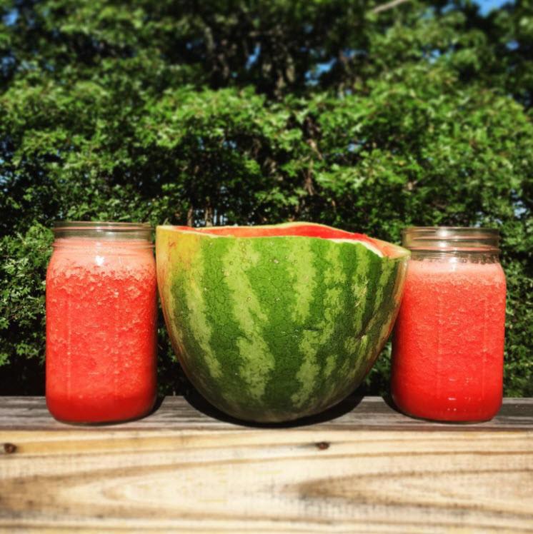 Healthy Bubblegum Watermelon Smoothie