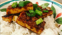 Seared Korean BBQ Tofu