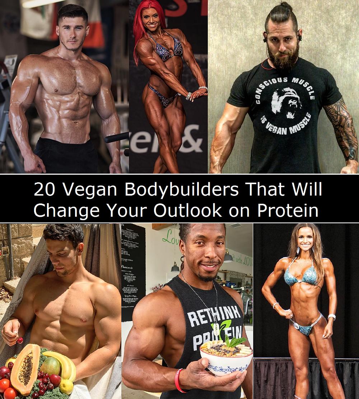 20 Vegan Bodybuilders that will change your outlook on protein | Vegan Kitchen Boss