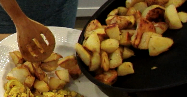 Healthy Vegan Home-Style Breakfast Potatoes