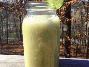 Refreshing Banana & Cucumber Smoothie