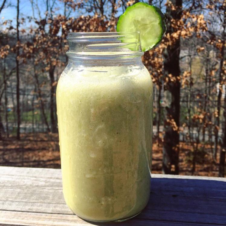 Healthy Cucumber Banana Smoothie