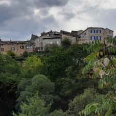 Village de Coux depuis la route