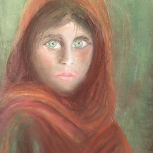 """""""La jeune fille aux yeux verts"""""""