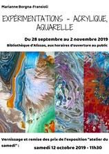 Exposition de Marianne BORGNA-FRANSIOLI