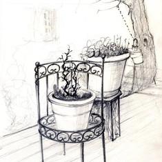 De la fenêtre de Anne G.