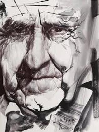 Portrait d'Alberto Breccia par Jean-François ARNAUD
