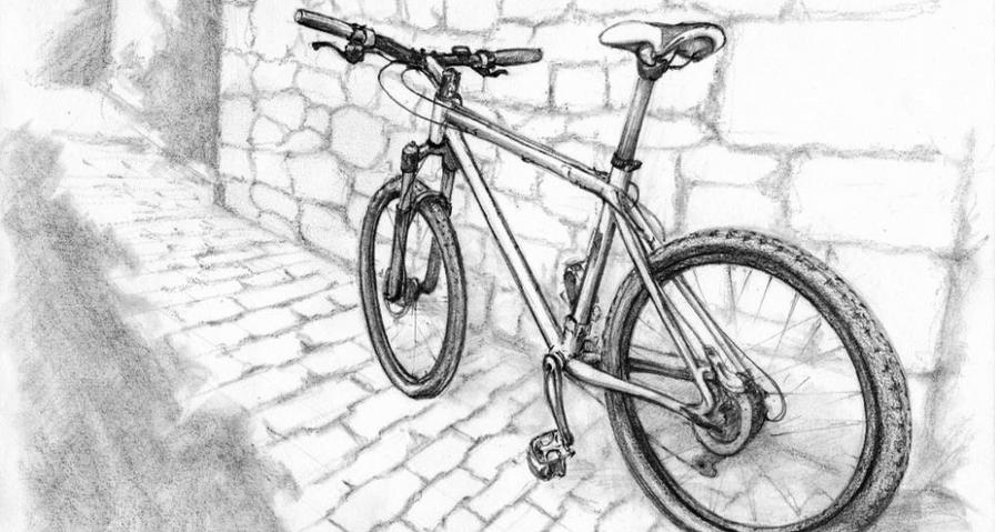 """Ma bicylcette"" - Croquenligne 6"