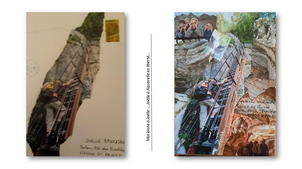 diapo art postal
