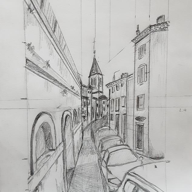 """""""Une rue dans ma ville"""""""