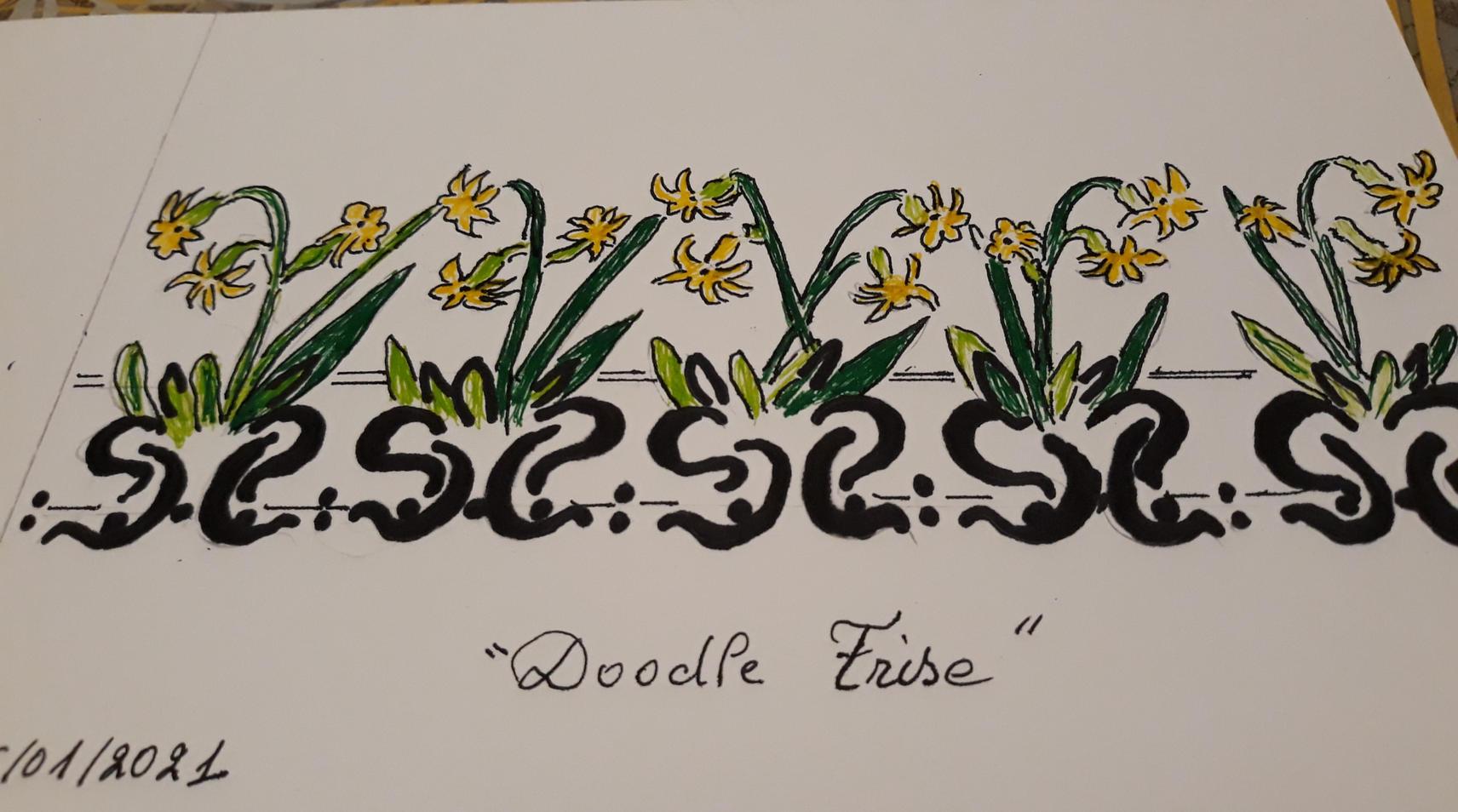 """""""Doodle frise"""""""