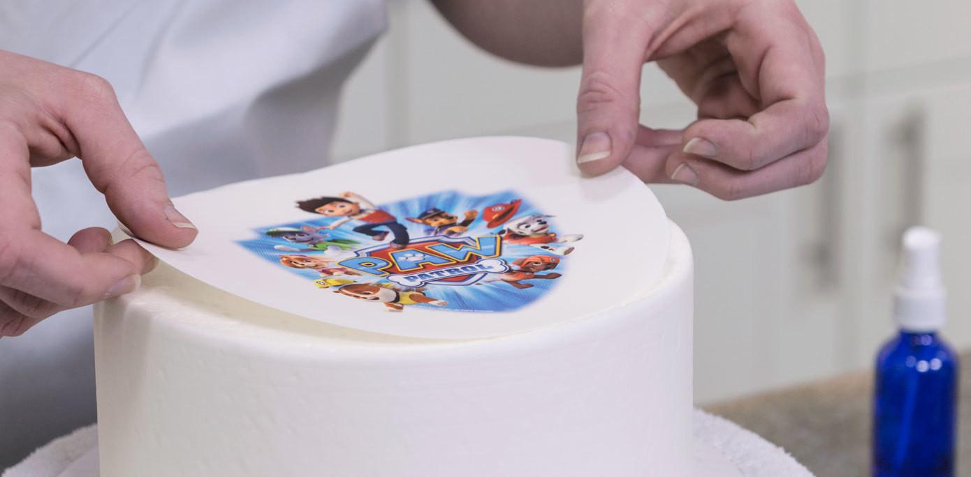 Поздравительные наврузом, как сделать съедобную картинку для торта