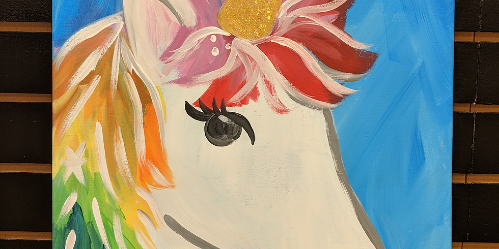 Sam's Virtual Unicorn Paint Party