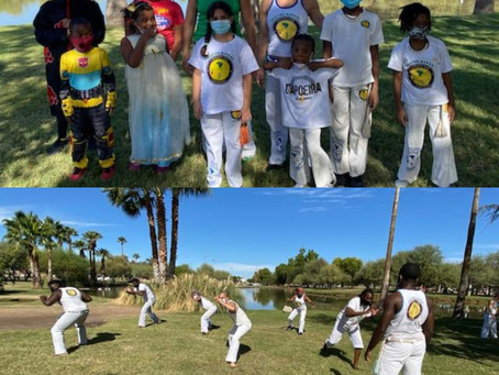 Capoeira and Halloween (Trick or Treat)