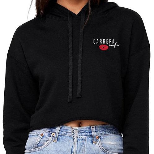 Carrera Cafe Kiss Hoodie in Black