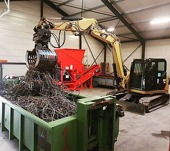 Cable Recycling ♻️ #cat308