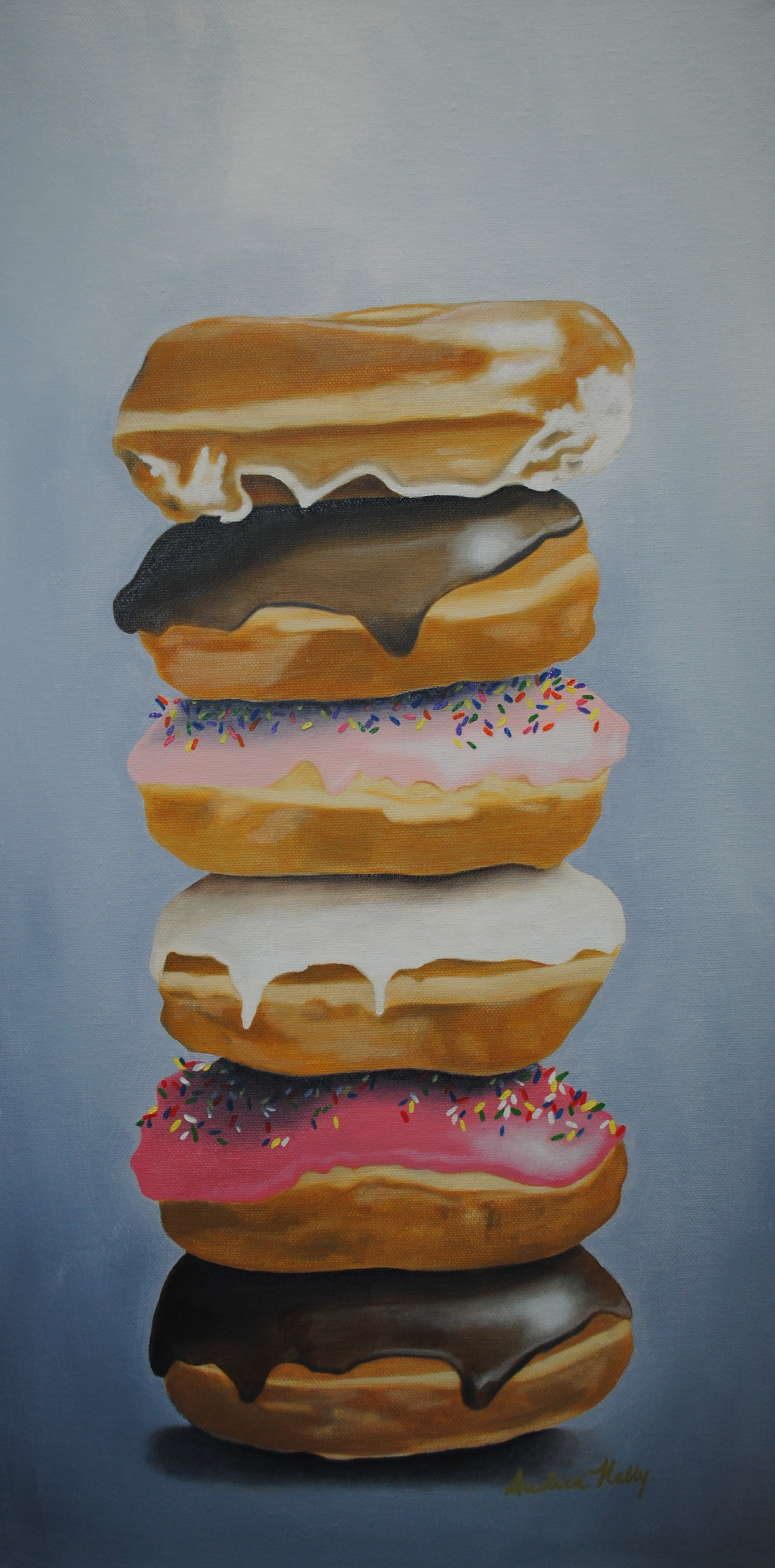 Donuts Stacked