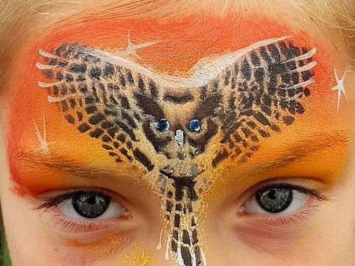 Tawny Owl stencil