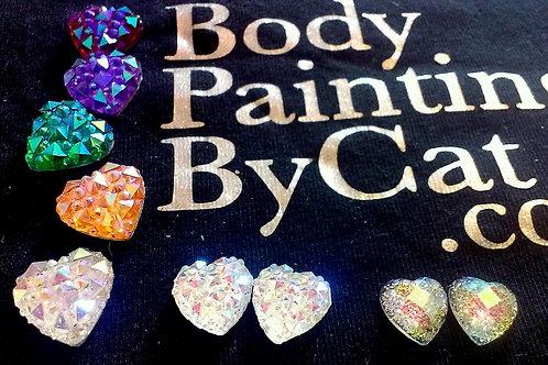 Aurora Crystal Heart Bling