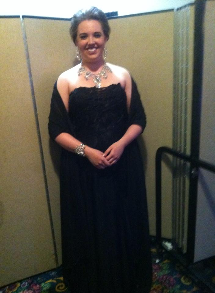 singing for the Bel Canto Foundation