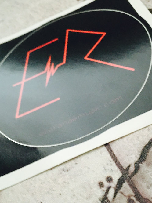 ER Logo Round sticker
