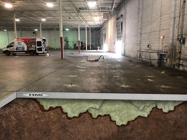 Commercial Concrete Raising Baltimore -