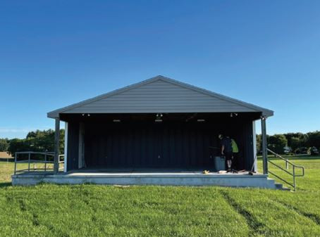 CASE STUDY: Gamber & Community Fire Company - Sunken & Unstable Concrete Outdoor Stage