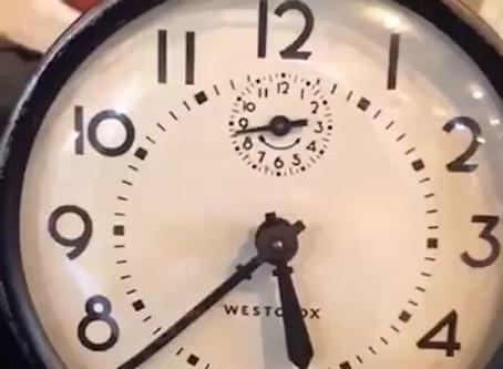 A Haunted Clock