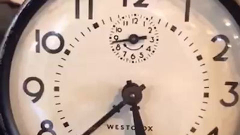A haunted clock? Why not?