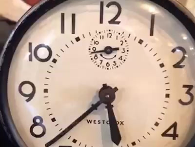 A Haunted Clock