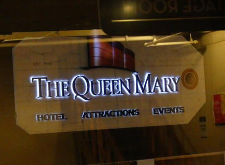 My First Trip to the Queen Mary