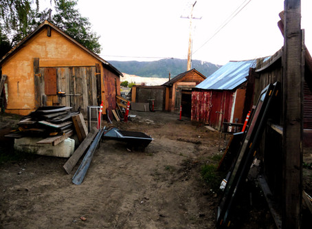A Well Preserved (and Haunted) Shanty Town - Butte, Montana