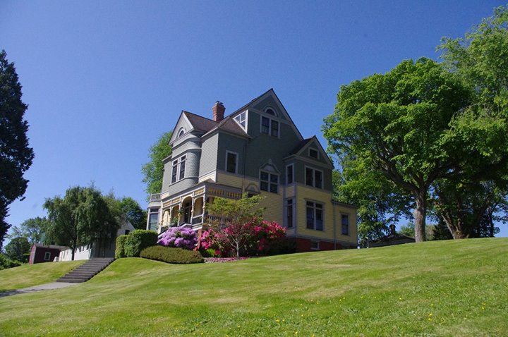 Ames house in Port Gamble, WA very beautiful and very haunted