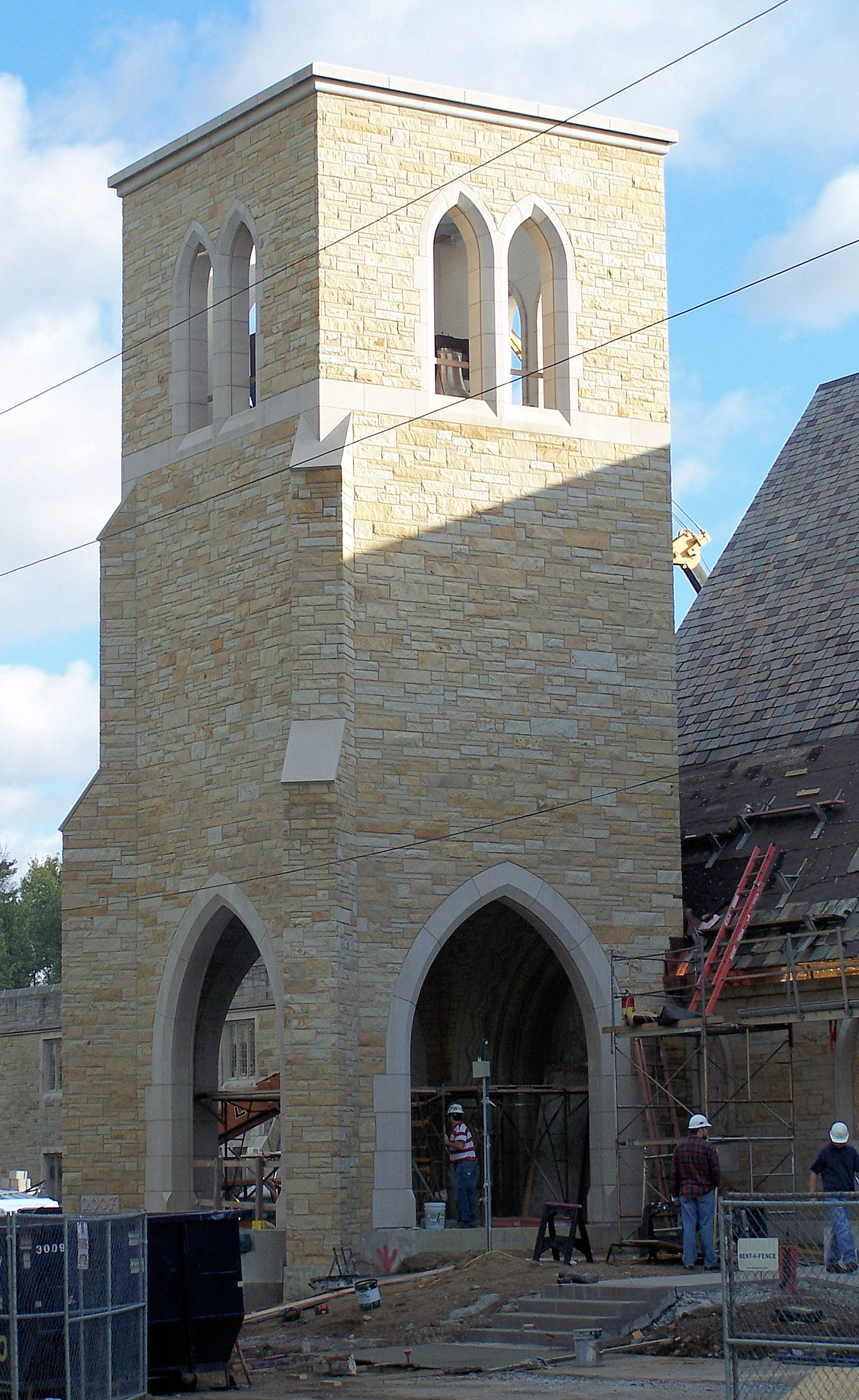 St. Paul's New Belltower