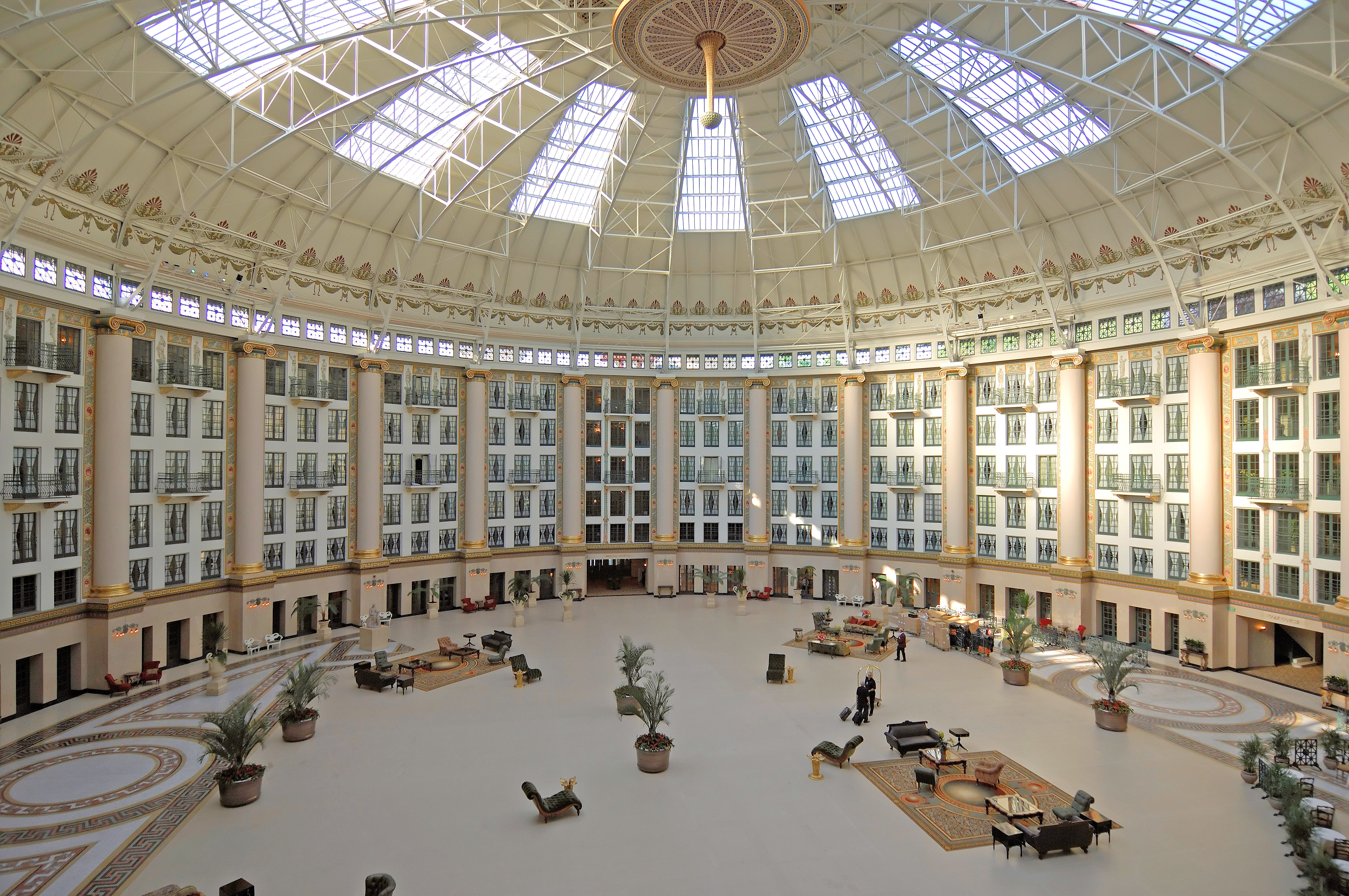 Atrium at West Baden Springs Hotel