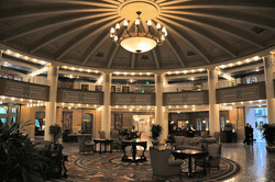 Lobby at The French Lick Hotel