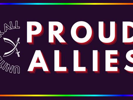 Rainbow Blades: Proud Allies
