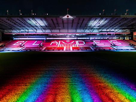 Rainbow Blades bringing colour to Sheff Utd