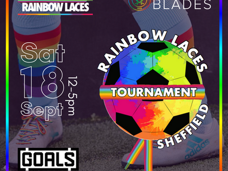 Sheffield Rainbow Laces is back!