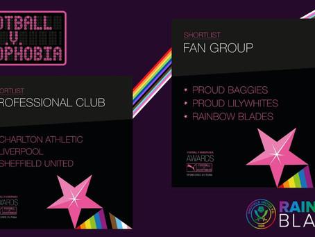 Football v Homophobia Award Finalists 2021