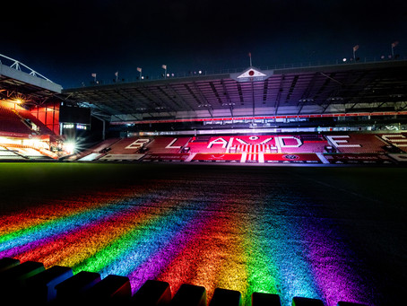 BLADES CONTINUE TO BACK RAINBOW LACES CAMPAIGN